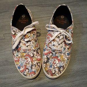Disney princess shoes women's size 10